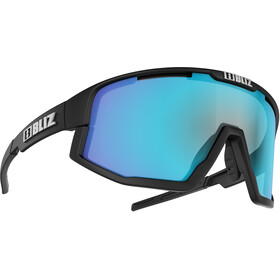 Bliz Fusion M12 Bril, matt black/smoke with blue multi
